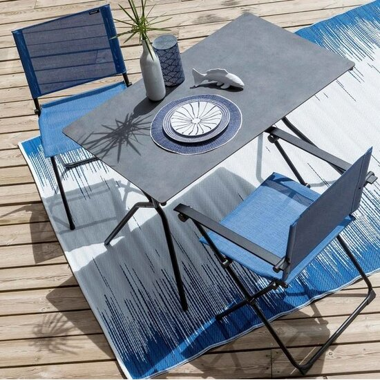 Lafuma Stuhl Anytime Batyline Klappstuhl Duo Outremer Noir