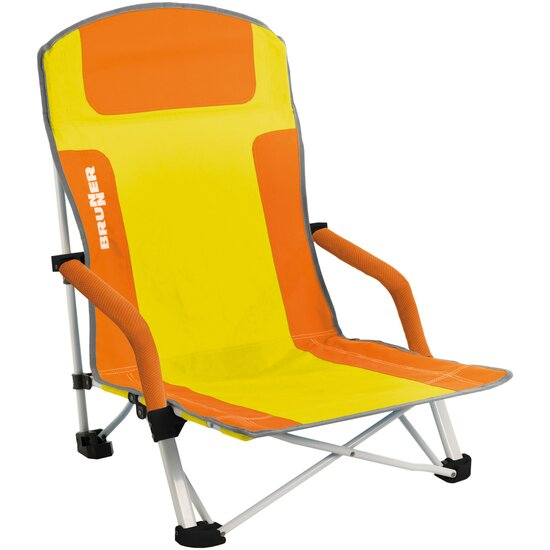 Brunner Strandstuhl Bula orange gelb